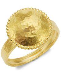 Gurhan - Textured 22k Gold Ring - Lyst