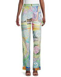 Versace Women's Signature Print Jeans - Size 27 (4) - Multicolor