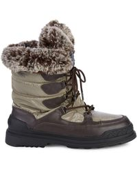 Pajar Tansy Faux Fur-trim Boots - Brown