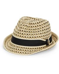 Tommy Bahama - Woven Striped Fedora - Lyst