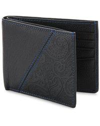 Robert Graham Pratt Leather Wallet - Black