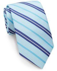 XMI Platinum - Striped Silk Tie - Lyst