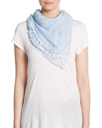Cara - Sheer Long Scarf - Lyst