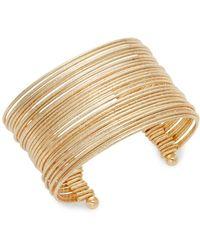 Punch - Multi-strand Cuff Bracelet - Lyst