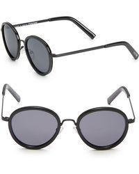 Joe's - 49mm Round Sunglasses - Lyst