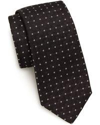 Pink Pony - Micro-square Silk Tie - Lyst