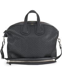 Givenchy Leather Cutout Duffel Bag - Black
