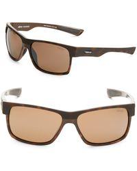 Revo - Camden 60mm Square Tortoiseshell Sunglasses - Lyst