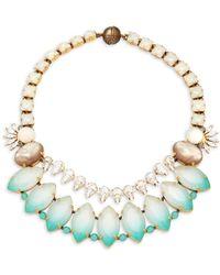 Tataborello - Swarovski Crystal Necklace - Lyst