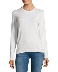 Ralph Lauren Purple Label Cashmere Sweater - White