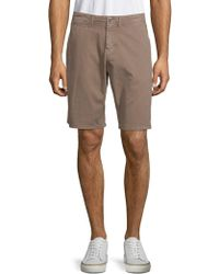 Original Paperbacks - Palm Textured Cotton Shorts - Lyst