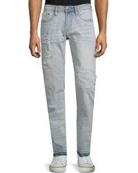 Buffalo David Bitton - Evan-x Distressed Jeans - Lyst