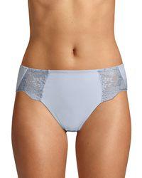 Wacoal Lace Impression High-cut Brief - Blue