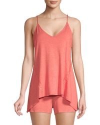 Natori - Lace-trimmed Camisole - Lyst