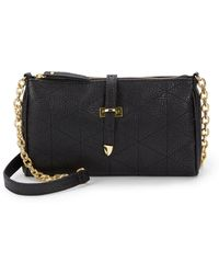 Saks Fifth Avenue - Lola Quilted Faux Leather Crossbody Bag - Lyst