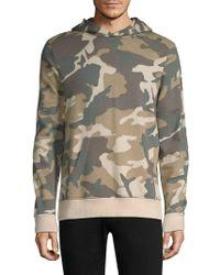 Wesc - Mike Camouflage Cotton Hooded Sweatshirt - Lyst