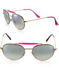 Ray-Ban - Phantos Round Sunglasses - Lyst