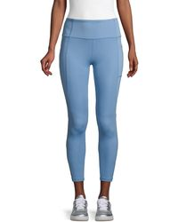 X By Gottex Ankle-length Leggings - Blue
