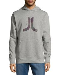 Wesc - Inlay Icon Cotton Hoodie - Lyst