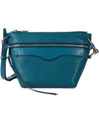 Rebecca Minkoff Mini Hayden Leather Crossbody Bag - Multicolour