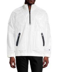 Champion Men's Eco-warrier Half-zip Pullover - Black - Size S