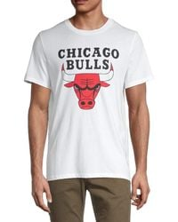 Zadig & Voltaire Men's Chicago Bulls Cotton Tee - White - Size M