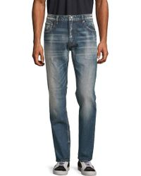 Vigoss - Distressed Slim Jeans - Lyst