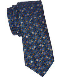Missoni Swirl Silk Tie - Blue