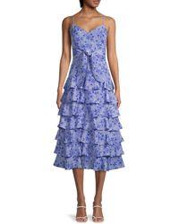 Likely Ariella Printed Dress - Blue