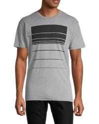 Vestige Cascade Redux Cotton-blend T-shirt - Grey