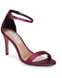 Saks Fifth Avenue Maris Ankle Strap Heels - Multicolour