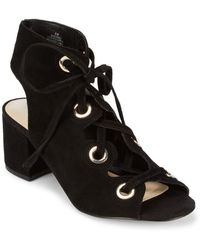 Nine West - Leather Open Toe Sandals - Lyst