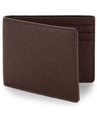 Hook + Albert - Textured Leather Bi-fold Wallet - Lyst