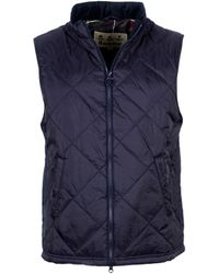 Barbour Finn Quilted Vest - Blue