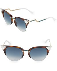 86712684b4 Lyst - Dior Floralaccented Oval Optyl Sunglasses in Brown for Men