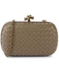 Bottega Veneta Woven Leather Clutch - Multicolor