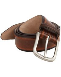 Saks Fifth Avenue Collection Cordovan Leather Belt