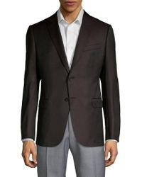 Armani - Pin Dot Sport Jacket - Lyst