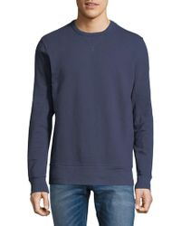 Alternative Apparel - Rib-trimmed Crewneck Sweatshirt - Lyst