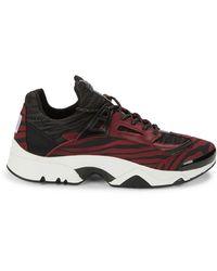 KENZO Colorblock Low-top Sneakers - Multicolor