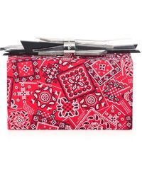 Edie Parker Wolf Paisley Clutch - Red