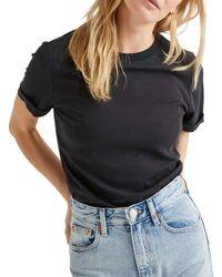 Richer Poorer Fitted T-shirt - Black
