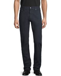 AG Jeans The Tellis Modern Slim-fit Corduroy Trousers - Multicolour