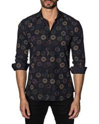 Jared Lang - Fireworks Cotton Button-down Shirt - Lyst