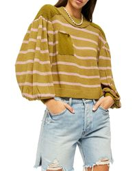 Free People Between The Lines Sweater - Multicolour