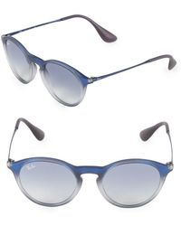 Ray-Ban - 49mm Round Sunglasses - Lyst