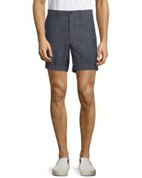 J.Lindeberg - Slim Fit Textured Shorts - Lyst