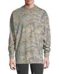 Yeezy Camo Long-sleeve T-shirt - Grey