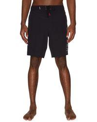 Spyder - Men's Logo Drawstring Shorts - Red - Size S - Lyst