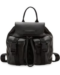 Kendall + Kylie Mini Poppy Faux Leather Backpack - Black